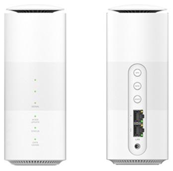 WiMAX +5Gホームルーター