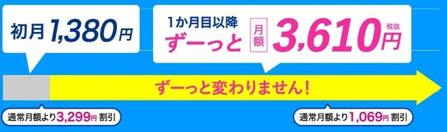 カシモWiMAX料金
