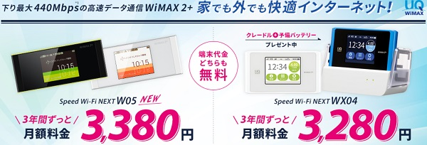 Sonet WiMAX 料金割引