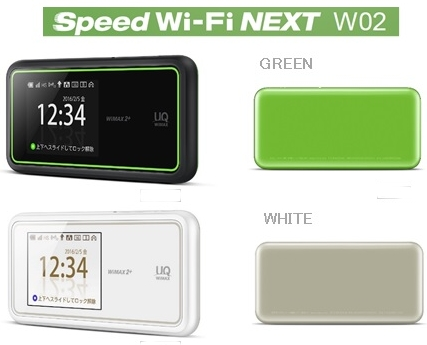 Speed Wi-Fi NEXT W02