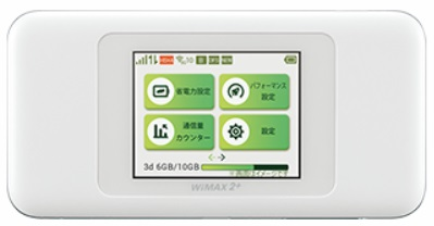 WiMAXルーターW06