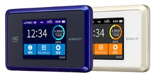BIGLOBE WiMAX 2+のWX03