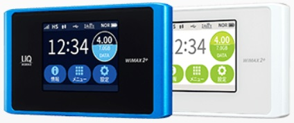 Sonet WiMAX 2+端末WX04